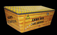 Single Ignition or Single Fuse Fireworks - Ammo Box from Sandling Fireworks