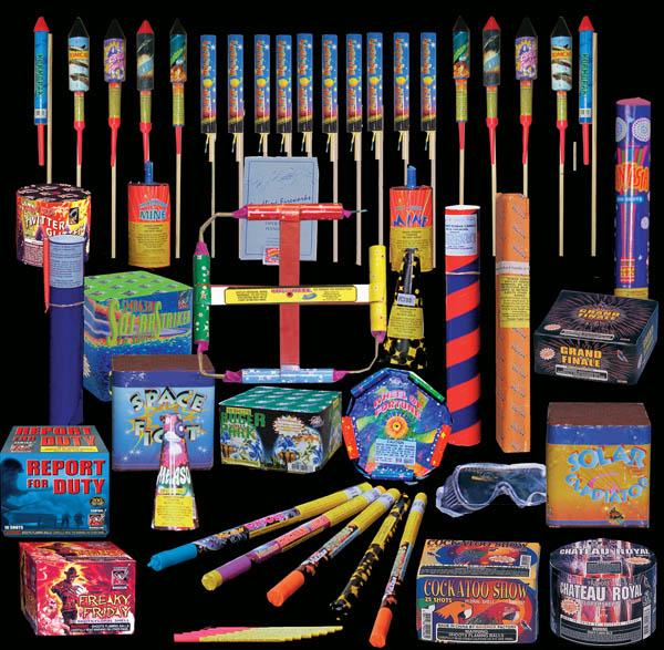 Backyard Firework Show: Sandling Fireworks Packs Info