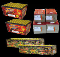 Firework Cakes & Barrages