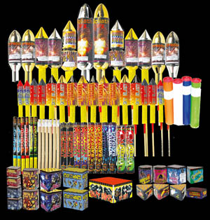 Buy Fireworks! - Firework Display Packs