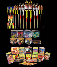Buy Fireworks! Garden Party Fireworks