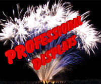 Professional Firework Displays from Sandling Fireworks