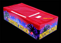 Single Ignition or Single Fuse Fireworks - Panther Attack  from Sandling Fireworks