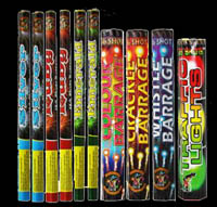 Buy fireworks! -  roman candles