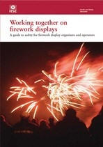 working together on firework displays