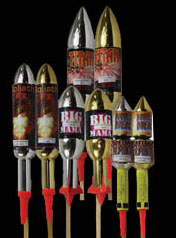Buy Fireworks! - Rockets Packs