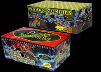 Firework Cakes & Barrages - Voodoo Zombies & Thors Revenge